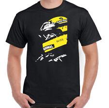 AYRTON SENNA T-SHIRT Mens F1 Formula 1 Unisex Top Brazil Legend Motorsport Car