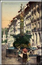 BERN Schweiz ~1910/20 Kinder am Gerechtigkeitsbrunnen alte Postkarte Switzerland