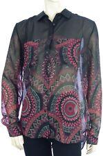 DESIGUAL CAM NOA chemisier voile noir femme 17WWCW86 coloris 2000 black