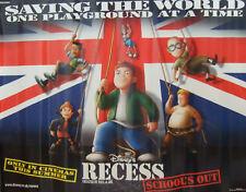 Walt Disneys RECESS-SCHOOLS OUT (2001) Original poster