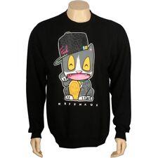 $80 Neff x Deadmaus Deadmouse Neffmaus Meow Meow Crewneck (black) sweater