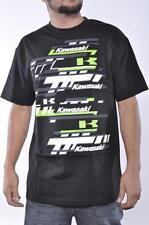 Kawasaki Mens Motocross Monster ATV Black  Racing Graphic Tee Shirt Official