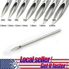TX 2/5 PCS Hollow Sterilized Pierce Gauge Piercing Needle 12 14 15 16 18 20g