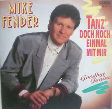 """7"""" 1988 ! MIKE FENDER : Tanz doch noch einmal mit mir"""