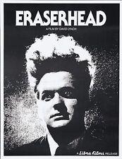 Eraserhead 1977 allungato tela Art movie film poster stampa SC-FI FANTASY