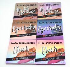 L.A. Colors New Eye,Face and Cheek Palettes ( Pick Eyeshawdow / Blush / Bronzer)