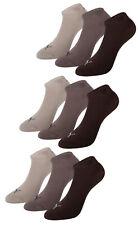 Puma Unisex Calcetines Bajos para Zapatillas Suaves como la Seda Bambus Cortos -