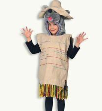 Plüsch-Kostüm Mexiko Maus Poncho Ratte Tierkostüm edel hochwertig 12191913