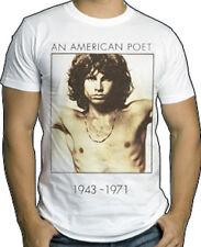 THE DOORS - An American Poet - T SHIRT S-M-L-XL-2XL Brand New Official T Shirt