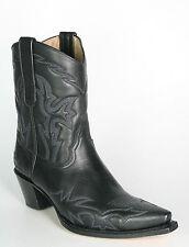 5300 Sendra Cowboystiefel Kurzschaft Judy Negro