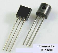 transistor thyristor BT169D , transistor interrupteur redresseur commandé .C43.6
