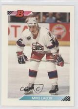 1992-93 Bowman #319 Mike Lalor Winnipeg Jets Hockey Card