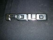 Schriftzug für Abschlußblech hinten VW Polo  867 853 687 NOS Neuteil NO REPRO !