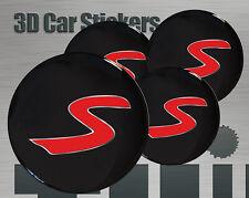Wheel stickers Mini Cooper S Center Cap Logo Badge Wheel Trims Rims Decal 3d