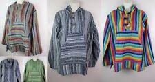 Handmade Cotton Gheri Gringo Hoodie Mantas Shirt Kurta Festival Gypsy Serape HJ1
