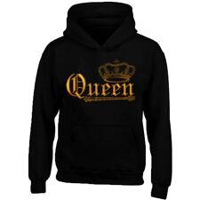 WILD Queen Crown Hoodie Sweatshirt Crown GOLD Queen Hoodie Gym Queen Sweater
