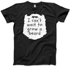 I Can't Wait to Grow a Beard - Cute Funny Kids T-Shirt