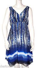 DESIGUAL fluide VEST YUNTUR robe femme 20V2198 femme bleue
