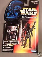 Star Wars red card POTF Death Star Gunner