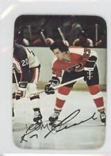 1977-78 O-Pee-Chee Glossy Insert #8 Reggie Leach Philadelphia Flyers Hockey Card