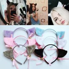 Women Girls Fashion Fox Plush Cat Ears Hair Accessories Headbands Sale Lovely