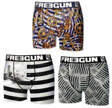 Freegun Lot 3 Boxers Collection Bretagne - Marin