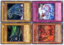 Ω YUGIOH Ω Lot de 4 Belles Cartes DRAGON N° LYD4 04