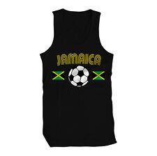 Jamaica Jamaican National Country Pride The Reggae Boyz Soccer Mens Tank Top