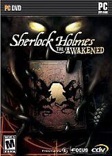 SHERLOCK HOLMES - THE AWAKENED - 2007 -  Disc + Book - Rated M