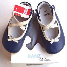 KANZ  Baby-Schuhe blau weiss Gr.  20 / 21   UVP 29,95 €  Knallerpreis Nr. 1