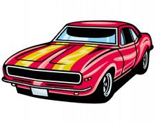 Pony Car Aufkleber Sticker Autoaufkleber Scheibenaufkleber