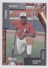 1992 Fleer ProCards Minor League #2130 Ty Woods Rockford Expos Baseball Card