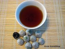 Teeparadies-net Tee: 10 Stck China Pu Erh Mini Tuo Cha 15 Jahre alt Teenest