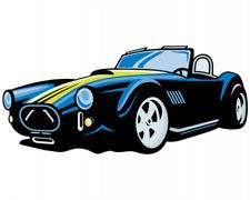 Roadster  Aufkleber Sticker Autoaufkleber Scheibenaufkleber