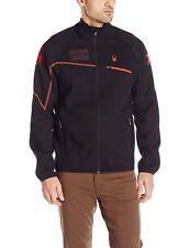 Spyder Men's Alps Full Zip Jacket, Black/Volcano