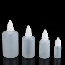 50x Liquidflaschen Tropfflaschen Leerflasche Dropper Bottle Flasche 10-100ml
