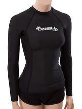 O'Neill women's basic skins long sleeve rashguard