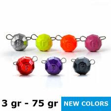 3-75gr Fanatic colored lead jig bending Flex head cheburashka bottom jig sinker