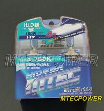MTEC H7 4X XENON COSMOS BLUE WHITE HEADLIGHT BULBS