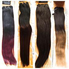 100% HUMAN HAIR 16 and 18 inches YAKI PLATINUM WEAVES - SENSATIONNEL