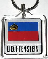 Principality of Liechtenstein Flag Key Chain NEW