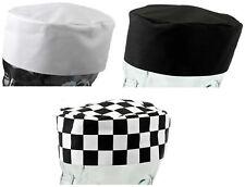 De poli algodón chefs Skull Cap Cool Cocina Cocina Catering Sombrero Pack De 1 O 5