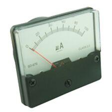 Pannello Misuratore 60x70mm CORPO IN PLASTICA BIANCO faccia vari stili disponibili BOBINA MOBILE