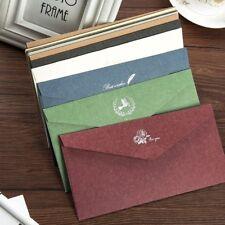 110x220mm Dl Coloré Enveloppes pour Cartes Voeux D'Invitation Fête Artisanats