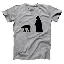 At-At Walker  Darth Vader Funny Star Wars Costume Gray Basic Men's T-Shirt
