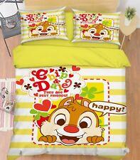 3D Cartoon Rabbit 42 Bed Pillowcases Quilt Duvet Cover Set Single Queen King Au