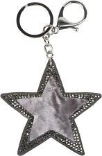 styleBREAKER Porte-clefs pour femme en forme d'étoile avec strass