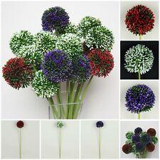 Allium Bloom Artificial flowers Ostrich Table decoration Art A272K