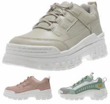 CATerpillar Damen Schuhe mit hoher Sohle - Plateau Sneaker dicke Sohle NEU