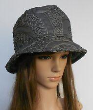New Women Ladies Showerproof Stylish Bucket Beautiful Embroidery Hat